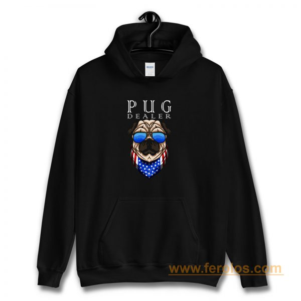 Pug Dealer Funny Cute Pug Lovers Men Women Hoodie