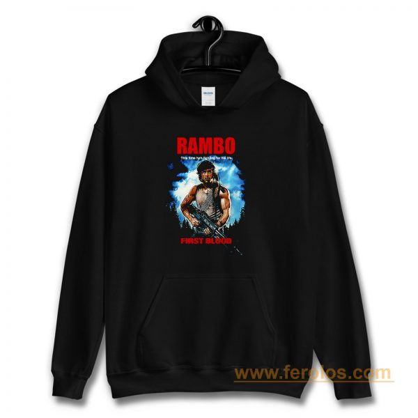 RAMBO FIRST BLOOD Hoodie