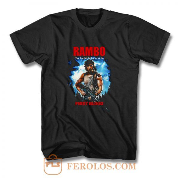 RAMBO FIRST BLOOD T Shirt