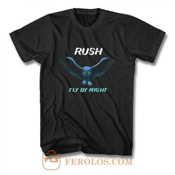 RUSH Fly By Night T Shirt