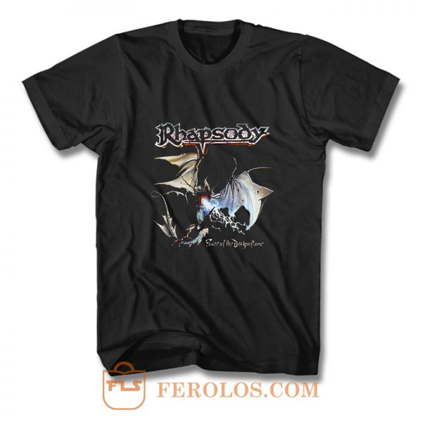 Rhapsody Power Of The Dragonflame T Shirt