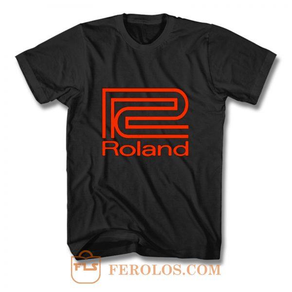 Roland Synthesizer T Shirt