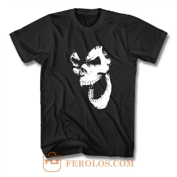 SKULL OUT BLACK T Shirt