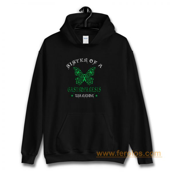 Sister of a Gastroparesis Warrior Support Awareness Hoodie