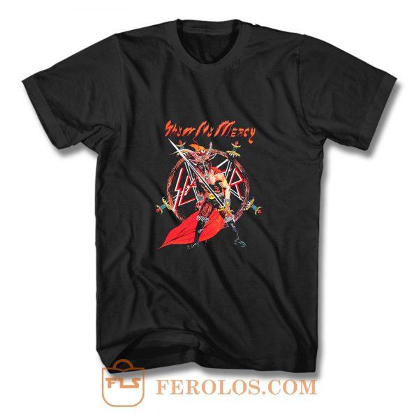 Slayer Show No Mercy T Shirt