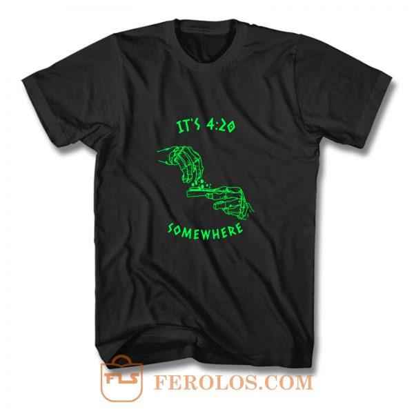 Smoking Weed T Shirt