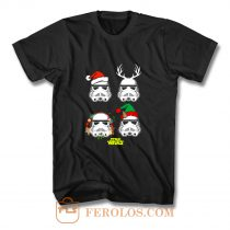 Stormtrooper Elf Festive Stars Wars T Shirt