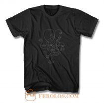 Strangers Line Art T Shirt