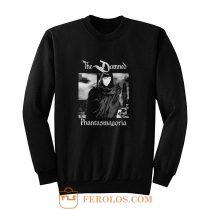 THE DAMNED PHANTASMAGORIA BLACK GOTHIC ROCK POST PUNK Sweatshirt
