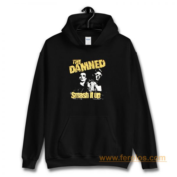 THE DAMNED SMASH IT UP Hoodie