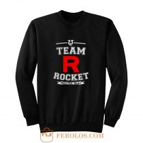 Team Rocket Gotta Steal Em All LADY FIT Pikachu Sun Moon Sweatshirt