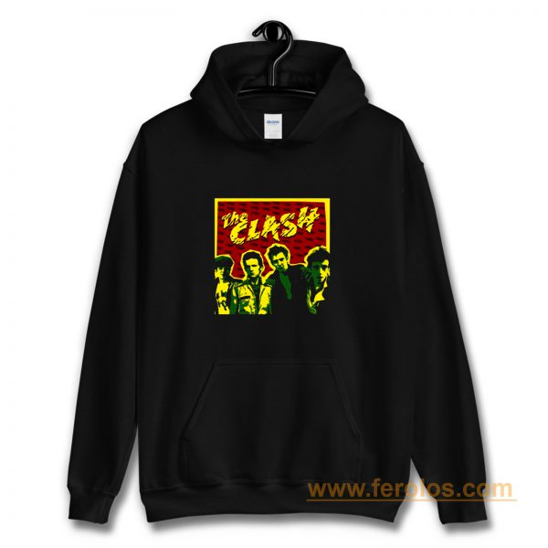 The Clash Band Personnel Hoodie