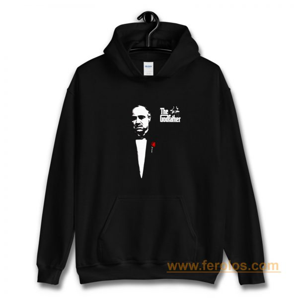 The Godfather 1972 Movie Don Corleone Long Sleeve Hoodie