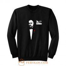 The Godfather 1972 Movie Don Corleone Long Sleeve Sweatshirt