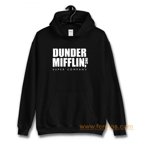 The Office Dunder Mufflin INC Paper Hoodie
