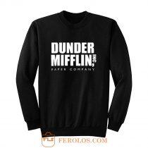 The Office Dunder Mufflin INC Paper Sweatshirt