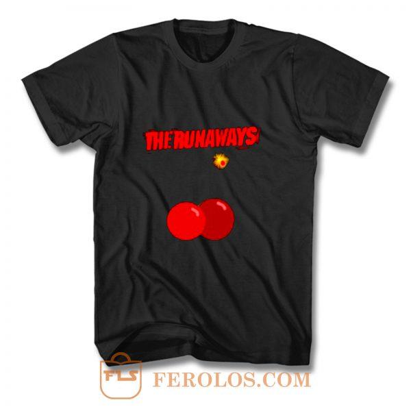 The Runaways Cherry Bomb T Shirt