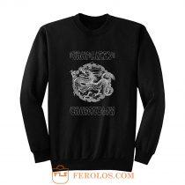 Thin Lizzy Chinatown Dragon Sweatshirt