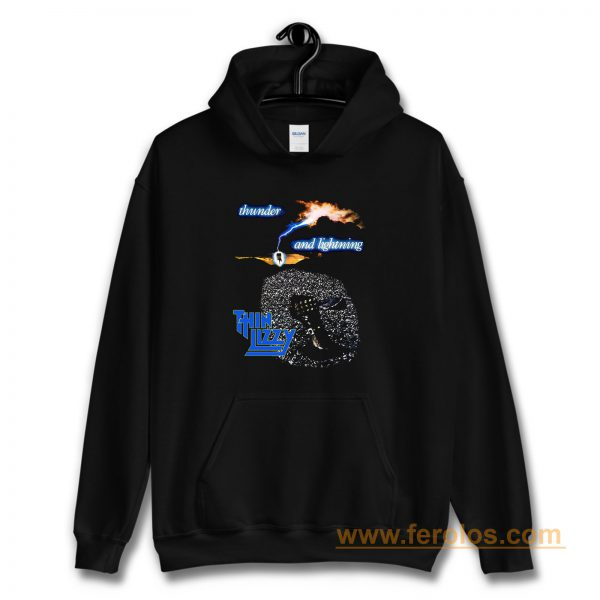 Thin Lizzy Thunder and Lightning Hoodie