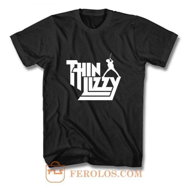 Thin Lizzy hard rock T Shirt