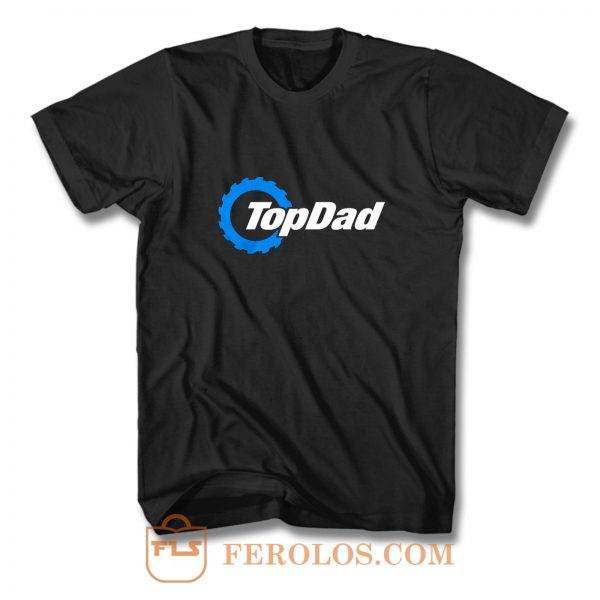 Top Dad Top Gear The Grand Tour The Stig Fathers Day T Shirt