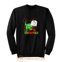 Trick Rawr Treat Halloween Sweatshirt