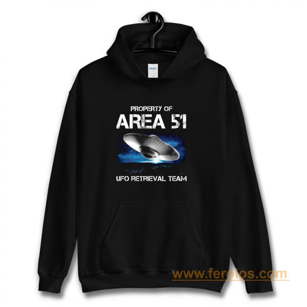 UFO Glow in the Dark Area 51 Spaceship Hoodie