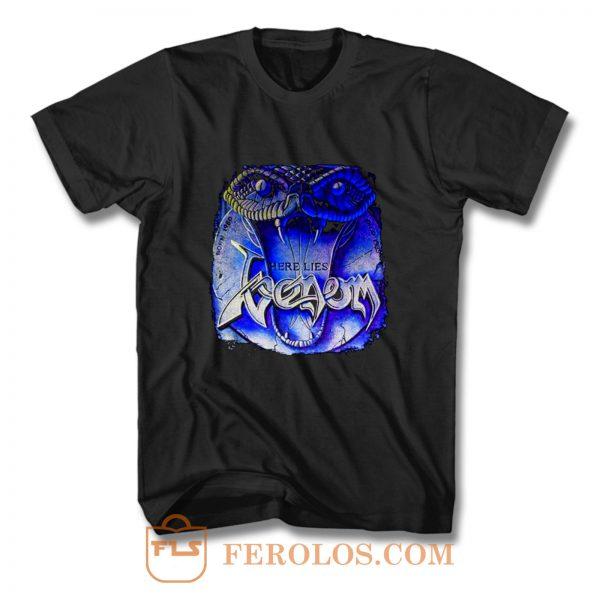 Venom Here Lies Venom T Shirt