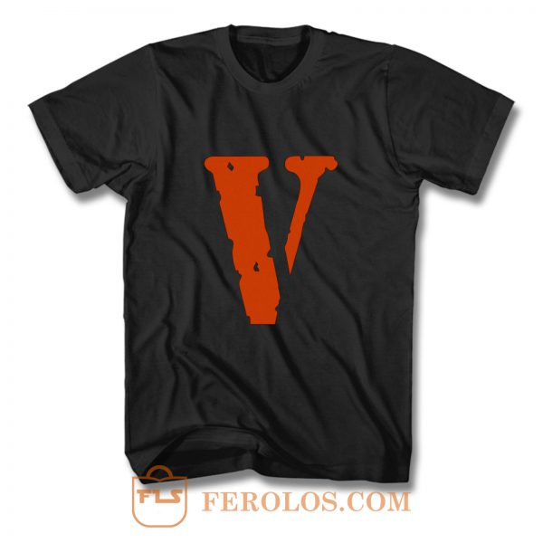 Vlone Friends Supreme quality off white ASAP rocky Virgil abloh palace B T Shirt