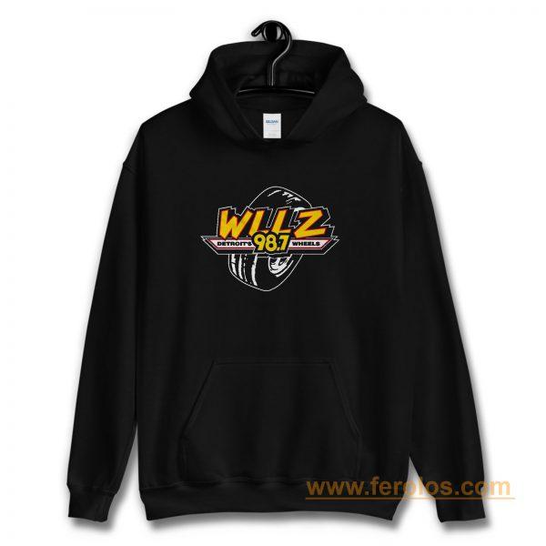 WLLZ Detroits Wheels Hoodie