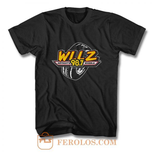 WLLZ Detroits Wheels T Shirt