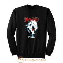 White Lion Band Pride Heavy Metal Hard Rock Band Sweatshirt
