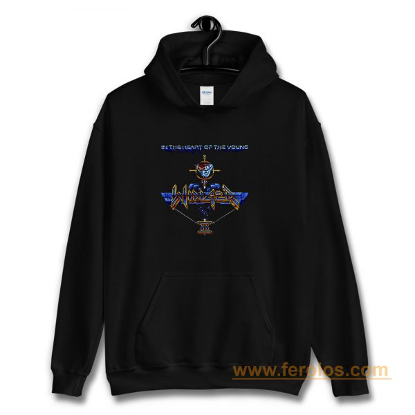 Winger In The Heart Of The Young Hoodie