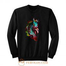 Zombie Horse New HORSE Sweatshirt