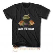 edgar the dragon digital printed T Shirt