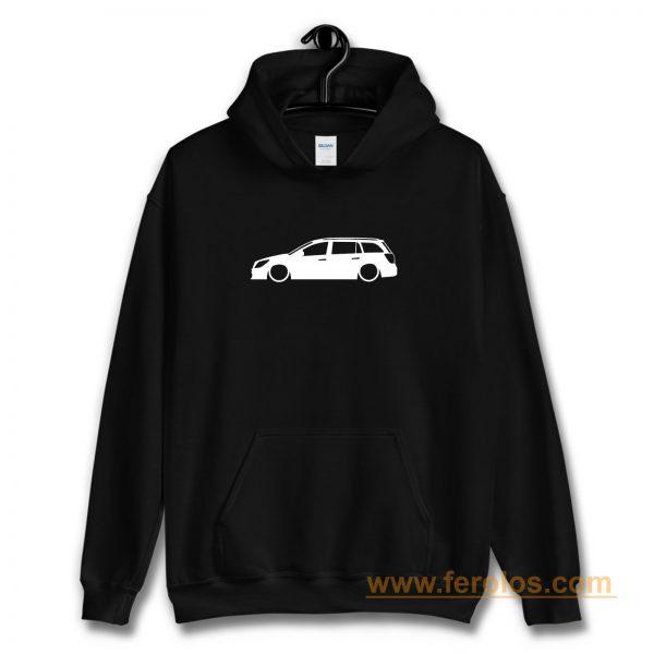 stra MK5 Estate Outline Silhouette car Hoodie