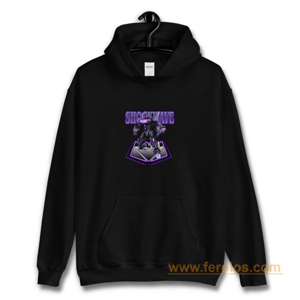 00s Video Game Classic War For Cybertron Shockwave Hoodie