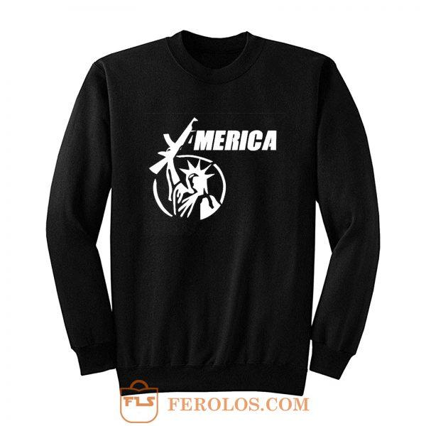 2nd Amendment Ar15 Liberty Sweatshirt