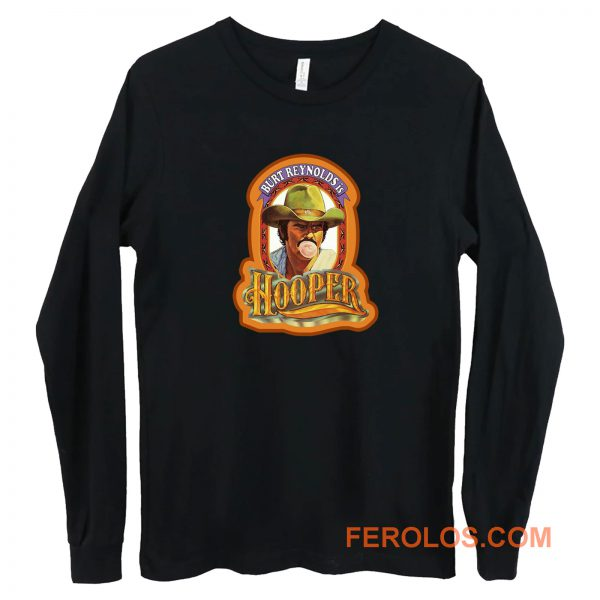 70s Burt Reynolds Classic Hooper Poster Art Long Sleeve