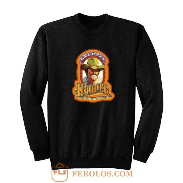 70s Burt Reynolds Classic Hooper Poster Art Sweatshirt
