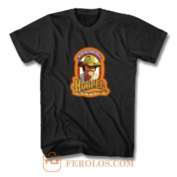 70s Burt Reynolds Classic Hooper Poster Art T Shirt