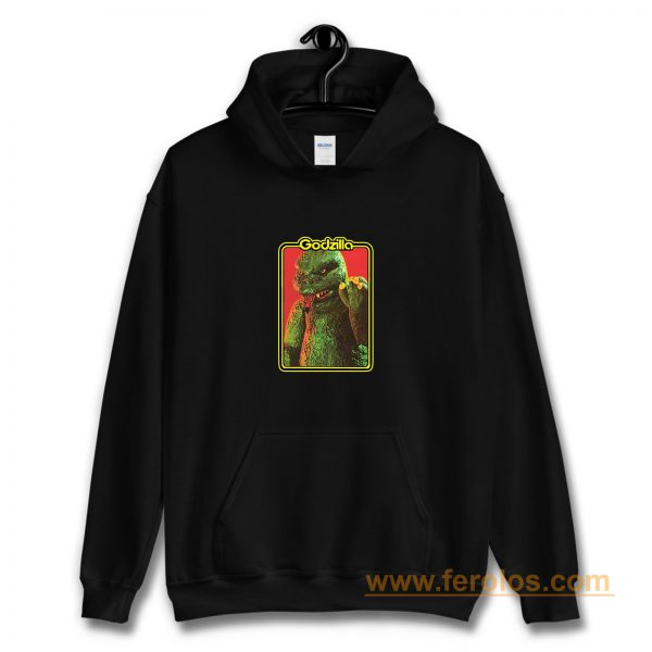 70s Classic Toyline Shogun Warriors Godzilla Hoodie