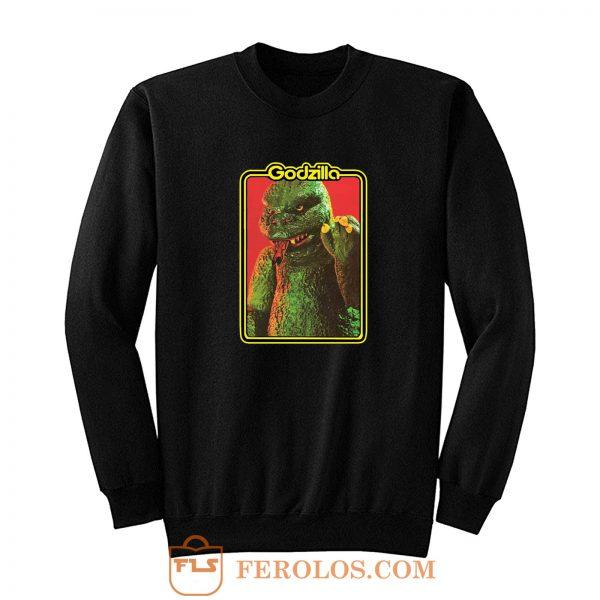 70s Classic Toyline Shogun Warriors Godzilla Sweatshirt