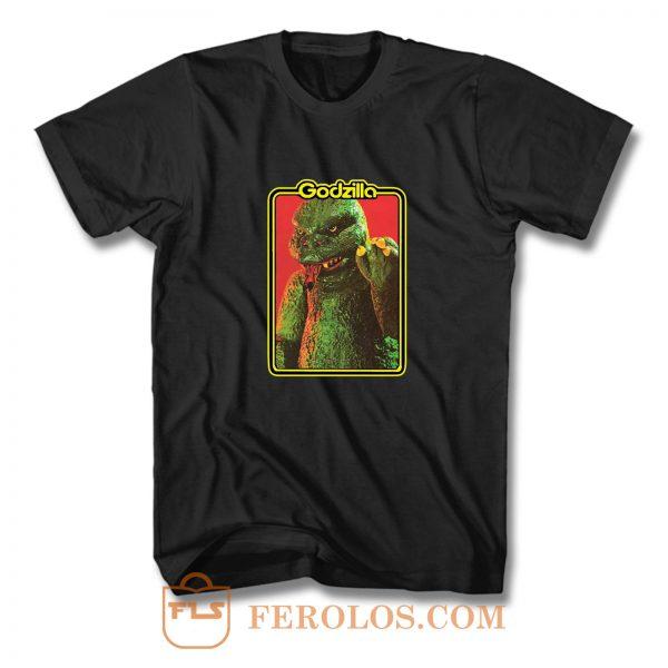 70s Classic Toyline Shogun Warriors Godzilla T Shirt