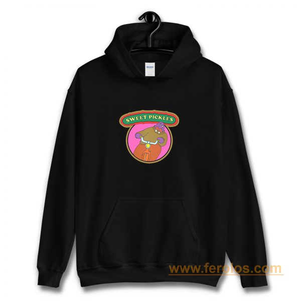 70s Pop Culture Classic Sweet Pickles Worried Walrus Hoodie