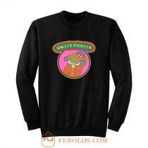 70s Pop Culture Classic Sweet Pickles Worried Walrus Sweatshirt