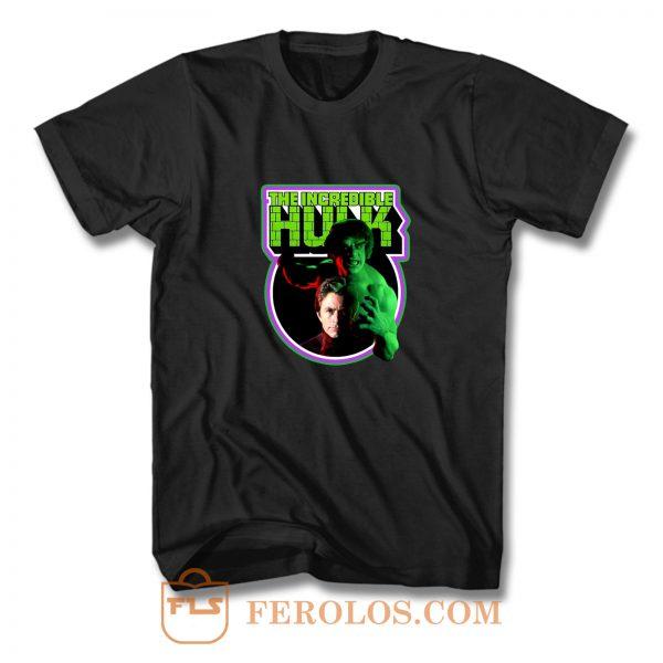 70s Tv Classic The Incredible Hulk Poster Art T Shirt