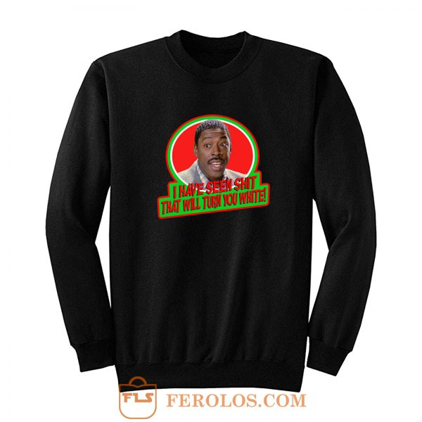 80s Classic Ghostbusters Winston Sh That Will Turn You White Sweatshirt
