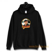 80s Classic Indiana Jones The Temple Of Doom Short Round No Time Hoodie