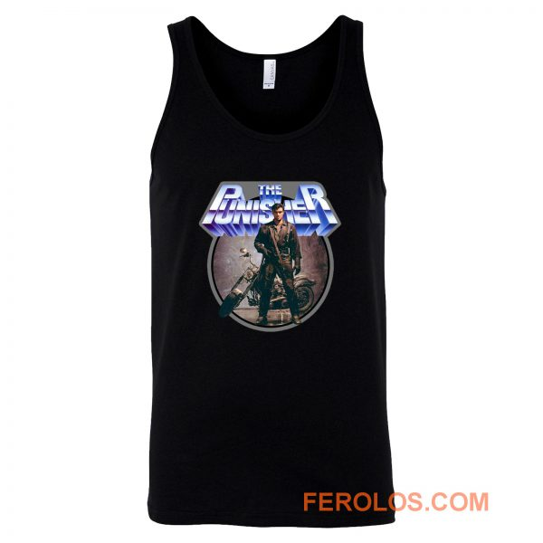 80s Comic Classic The Punisher Poster Art Tank Top